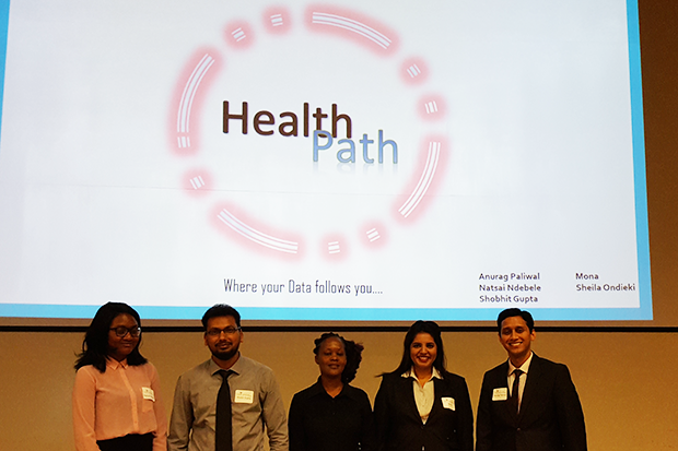 Health Path team members were Anurag Paliwal, Natsai Ndebele, Shobhit Gupta, Mona and Sheila Ondieki.