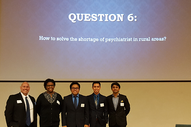First runner-up team Mental Giants consisted of Robin Moore, Aditya Gogoi, Raveesh Kapoor, Janae Logan and Tom Tran.